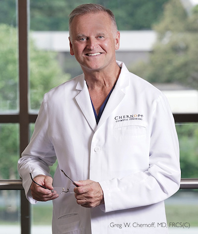 Dr. Greg Chernoff smiling in a welcoming manner